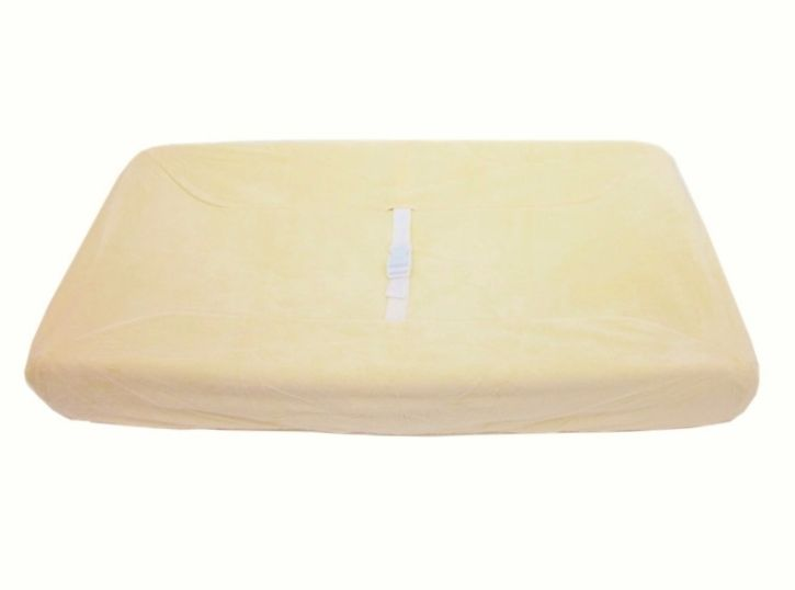 American Baby Company Heavenly Soft Contour Pad Cover, Yellow