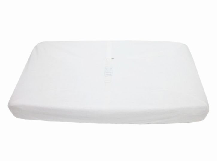 American Baby Company Heavenly Soft Contour Pad Cover, White