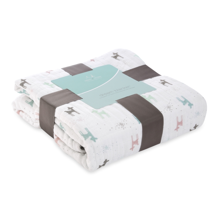 Aden and Anais Classic Dream Blanket, Camp Girl