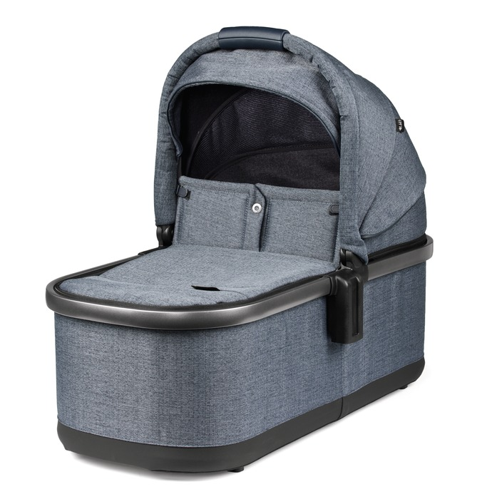 Agio Z4 Bassinet - Luxe Mirage Blue