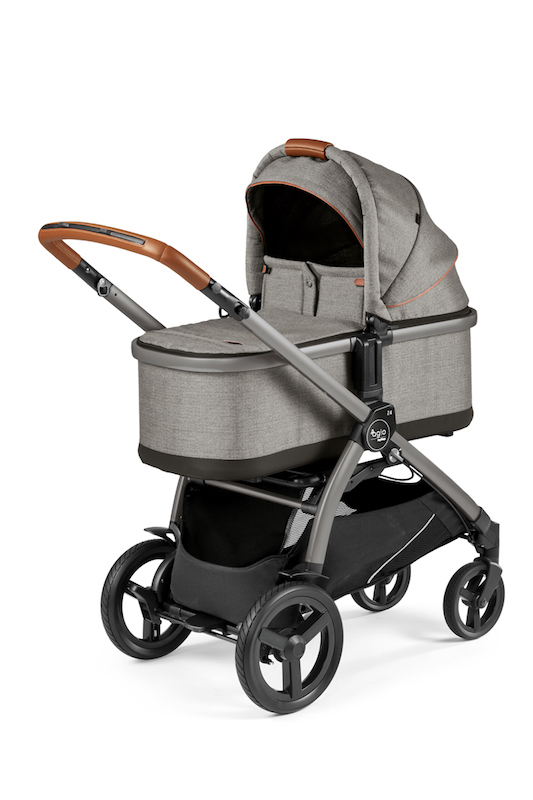 Agio Z4 Stroller and Bassinet - Agio Grey