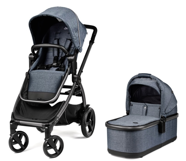 Agio Z4 Stroller and Bassinet - Mirage Blue
