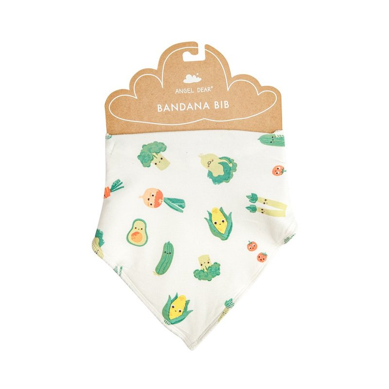 Angel Dear Healthy Greens Bandana Bib