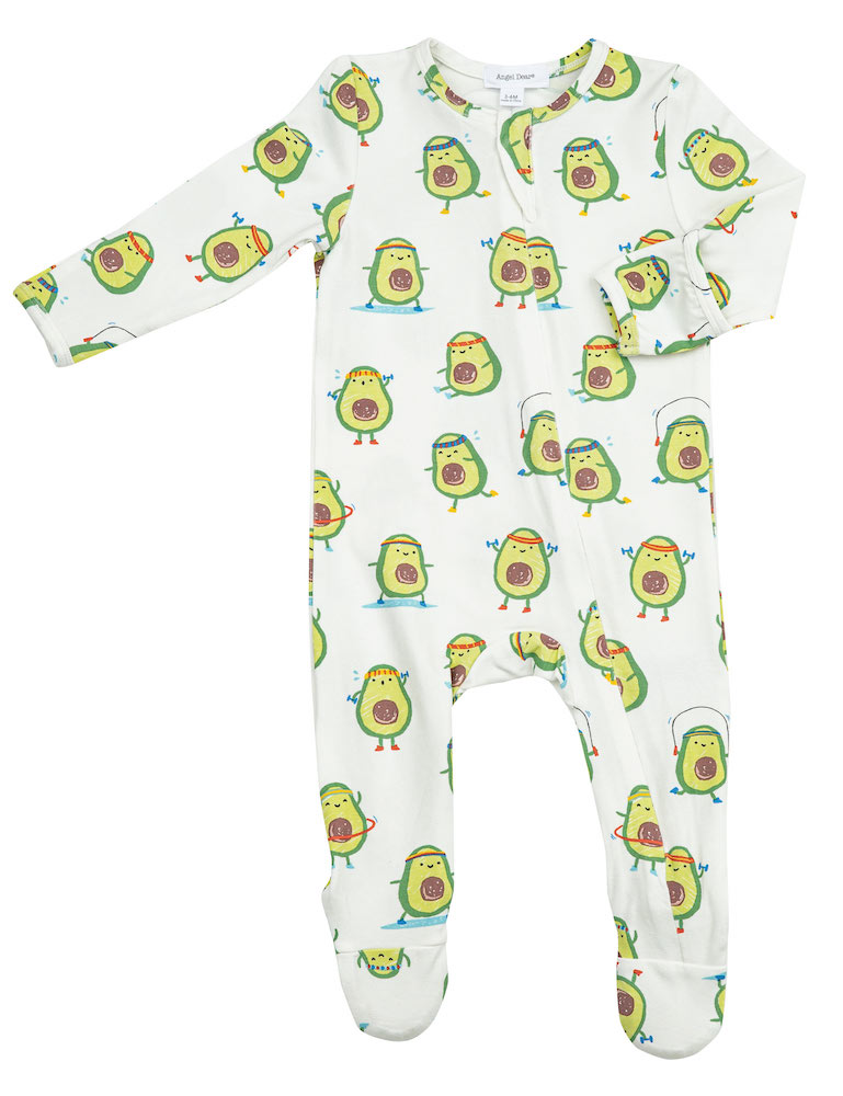Angel Dear Avo-Cize Zipper Footie - 12-18 Months