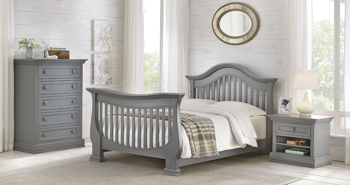 Baby Appleseed Davenport Crib and Dresser Package