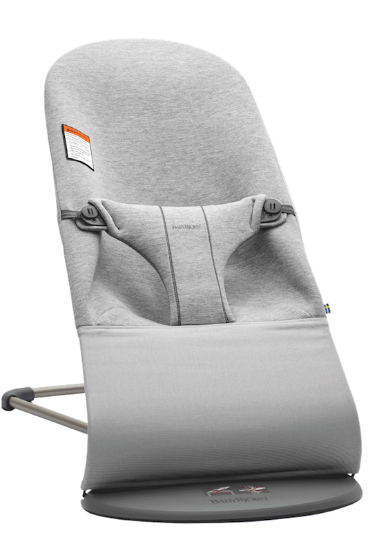 BabyBjorn Bliss Bouncer in 3D Jersey Light Grey