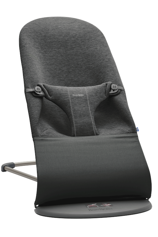 BabyBjorn Bliss Bouncer - Charcoal Grey 3D Jersey