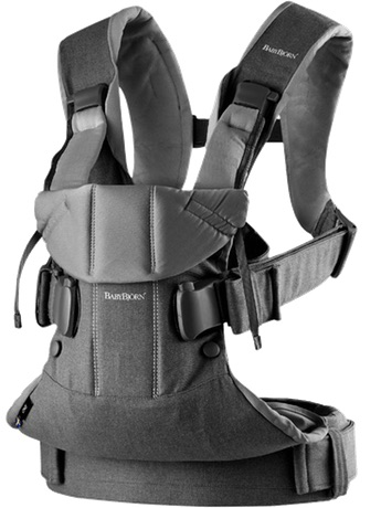 BabyBjorn One Cotton Carrier - Dark Gray