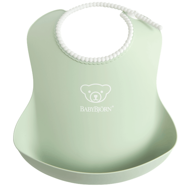 BabyBjorn Baby Bib - Powder Green