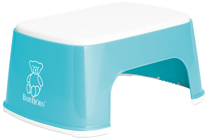 BabyBjorn Step Stool - Turquoise