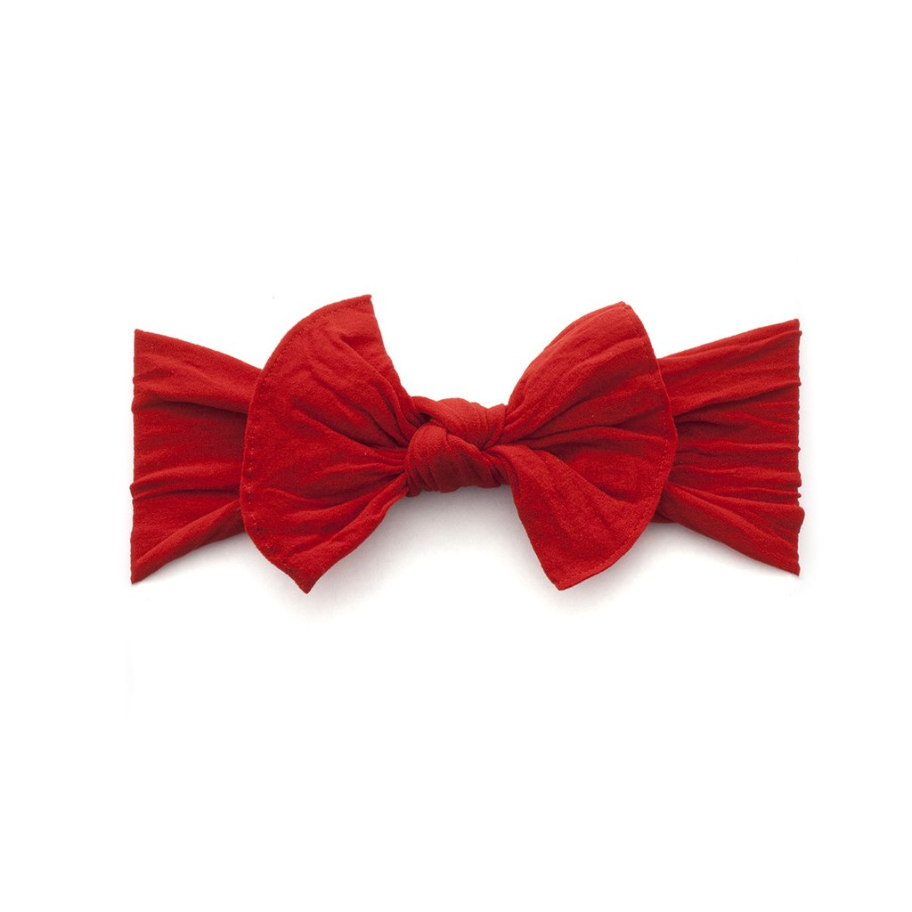 Baby Bling Bows Knot Headband, Cherry