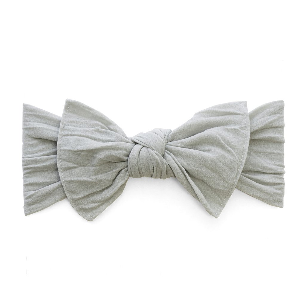 Baby Bling Bows Knot Headband, Grey