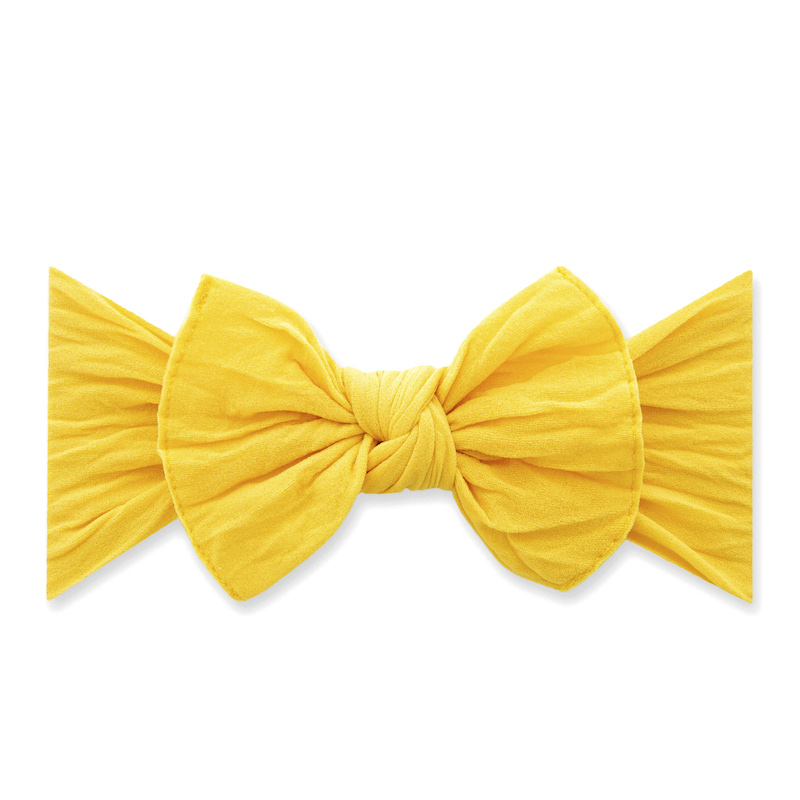 Baby Bling Bows Knot Headband - Canary