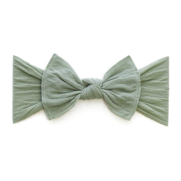 Baby Bling Bows Classic Knot in Sage