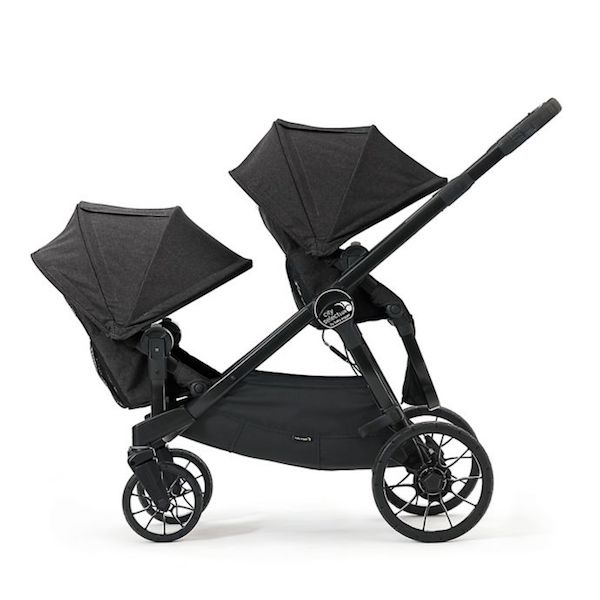 Baby Jogger City Select Lux Stroller With Second Seat Granite