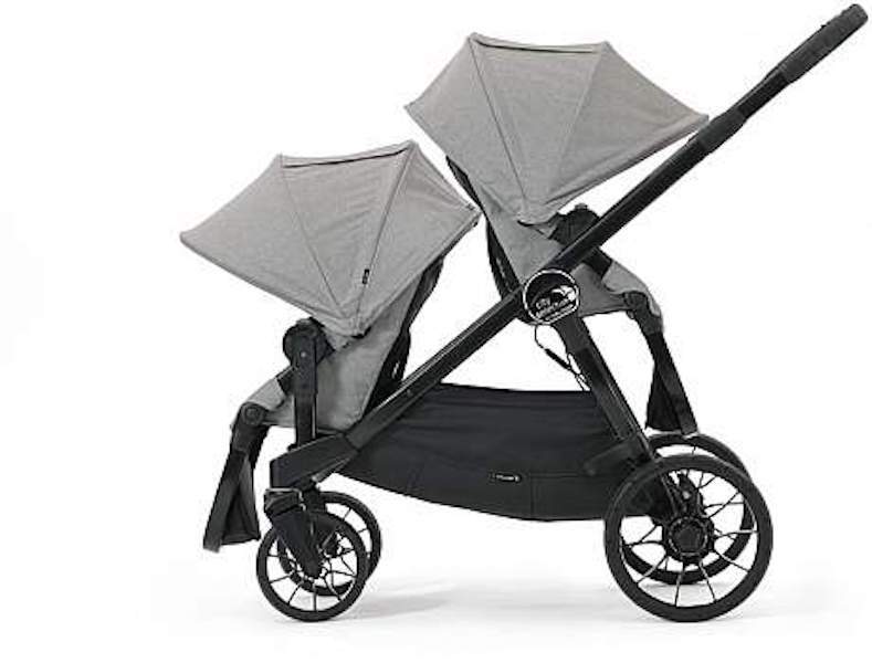Baby Jogger City Select Lux Stroller With Second Seat Slate