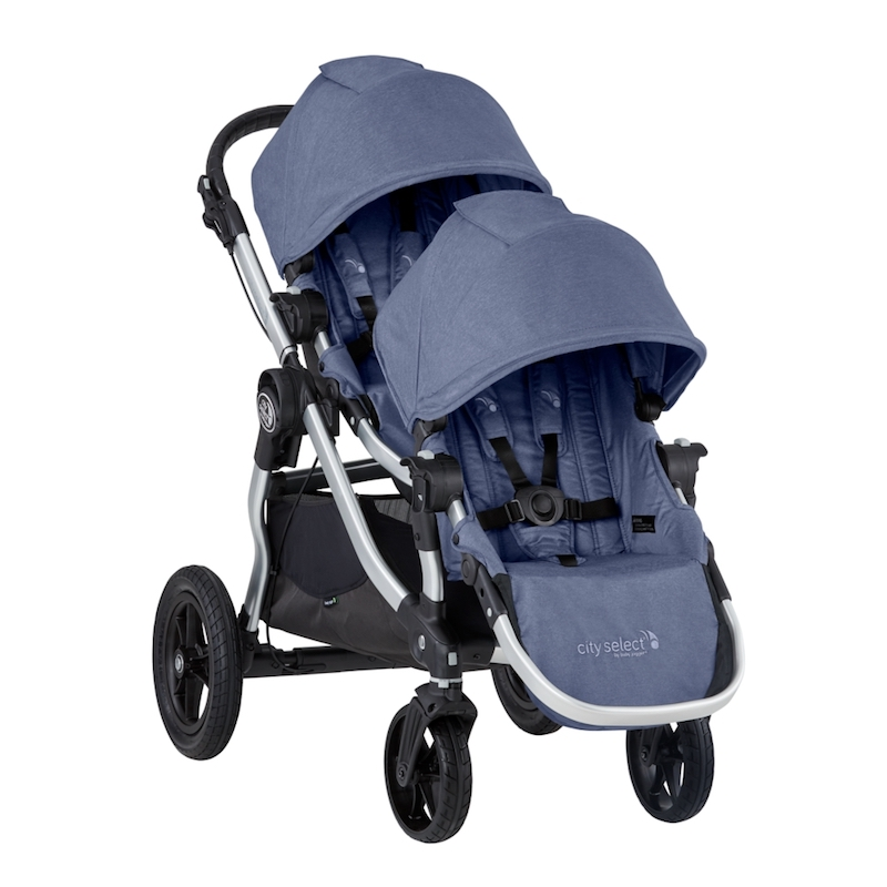 Baby Jogger 2019 City Select Double Stroller - Moonlight