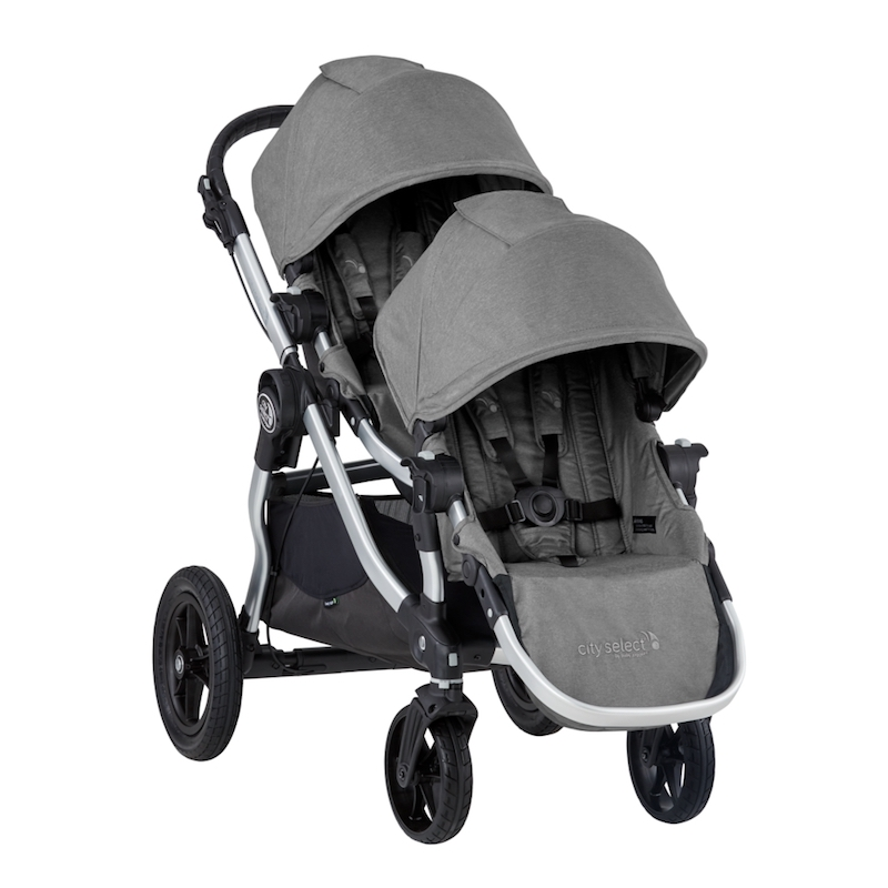 Baby Jogger 2019 City Select Double Stroller in Slate