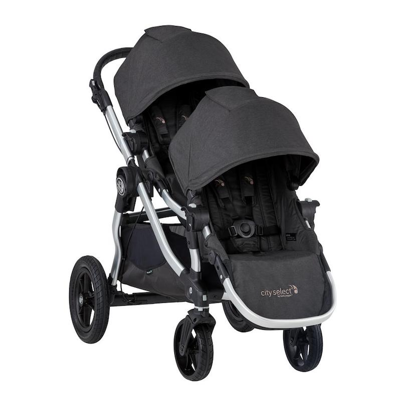 Baby Jogger 2019 City Select Double Stroller in Jet