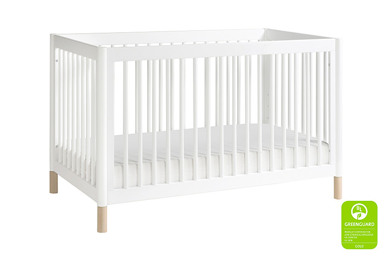 BabyLetto Gelato 4-in-1 Convertible Crib - White