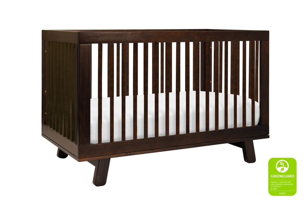 Babyletto Hudson 3 in 1 Convertible Crib, Espresso