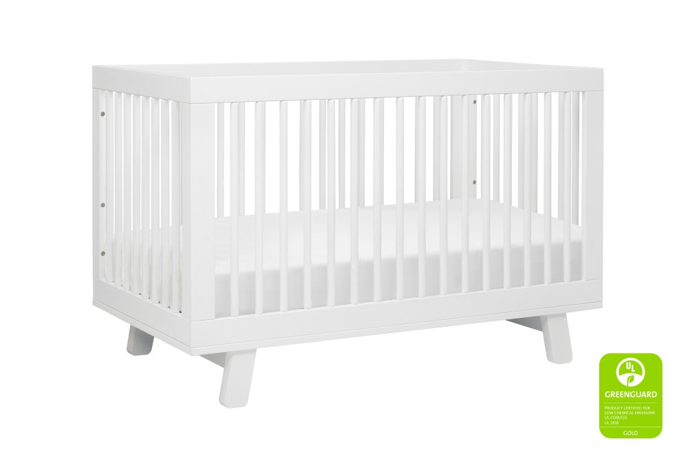 Babyletto Hudson 3 in 1 Convertible Crib, White