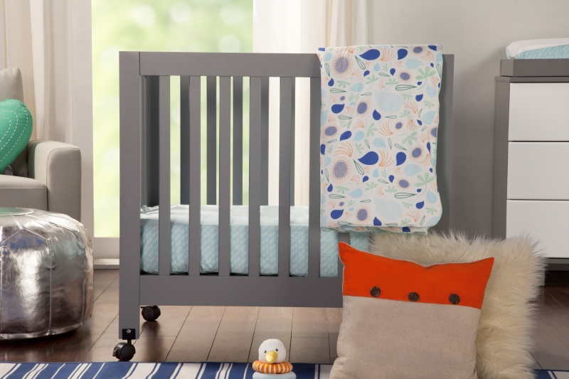 BabyLetto Origami Mini Crib - Grey