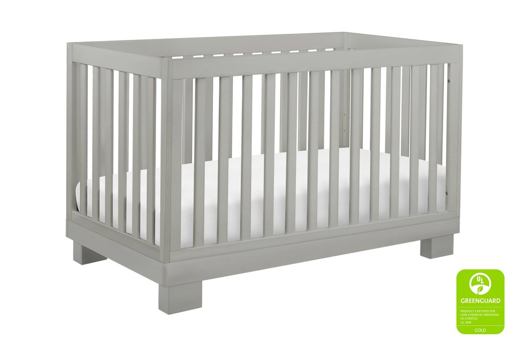 BabyLetto Modo 3-in-1 Convertible Crib - Grey