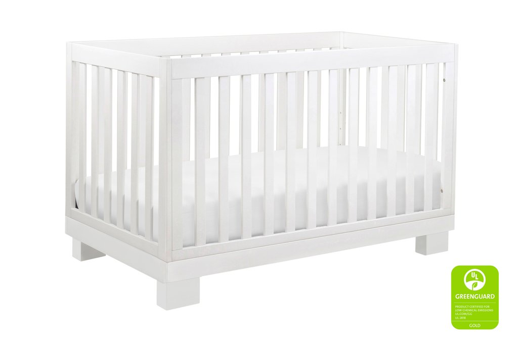 BabyLetto Modo 3-in-1 Convertible Crib - White
