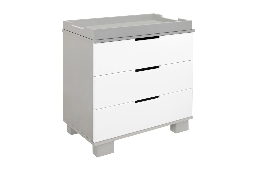 BabyLetto Modo 3 Drawer Changer - Grey and White