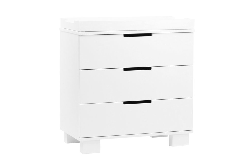 BabyLetto Modo 3 Drawer Changer - White