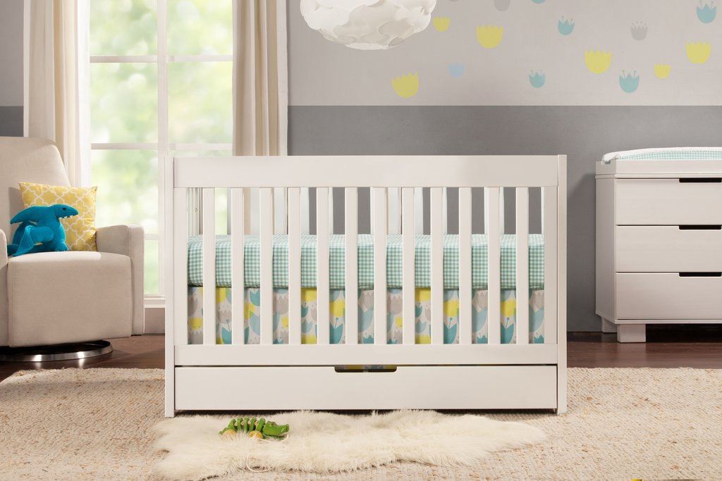BabyLetto Mercer 3-in-1 Crib - White