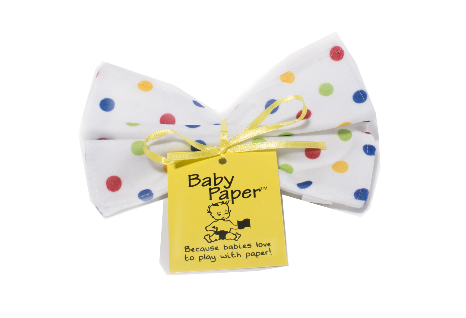 Baby Paper Crinkly Baby Toy - Polka Dot