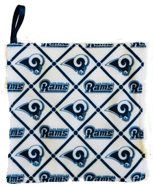 Baby Paper Los Angeles Rams Rally Paper