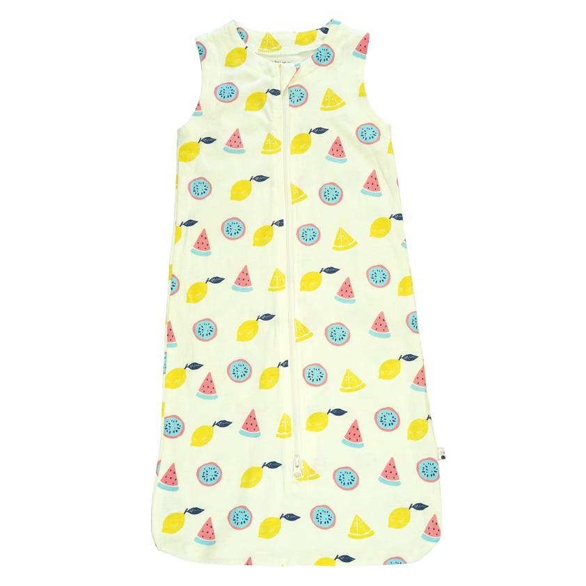 BabySoy Sleeveless Sleep Sack Fruit - 0-6 Months