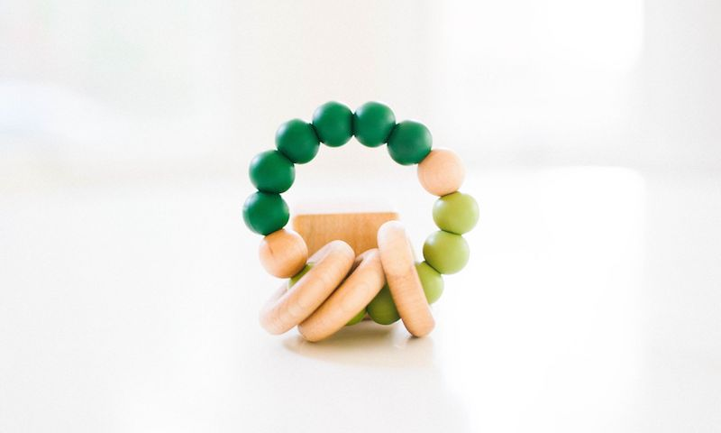 Bannor Toys Fall Limited Classic Teether in Emerald