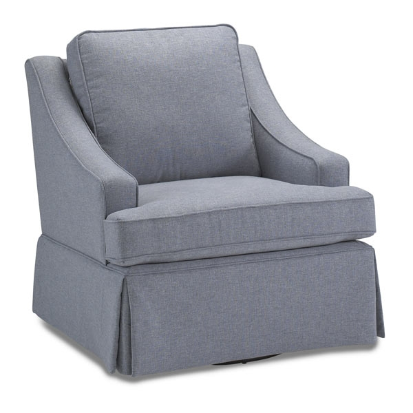 Best Chairs San Paolo Upholstered Swivel Glider