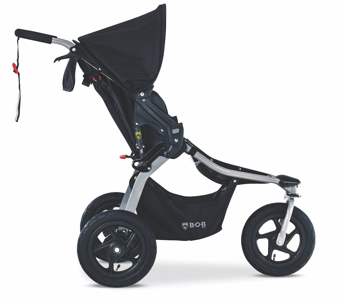 BOB Gear Rambler Jogging Stroller - Black - Destination Baby & Kids