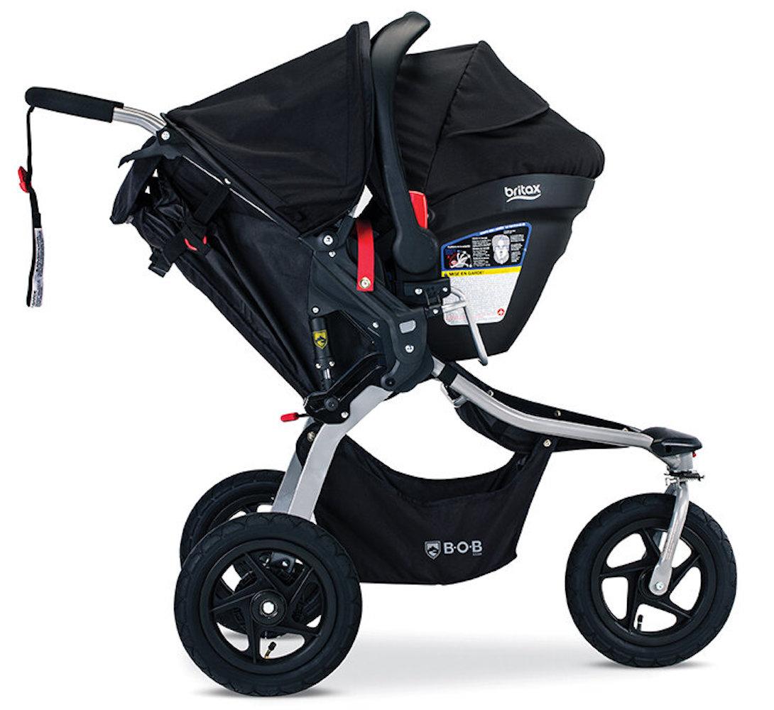 BOB Gear Rambler Stroller Travel System - Black ...