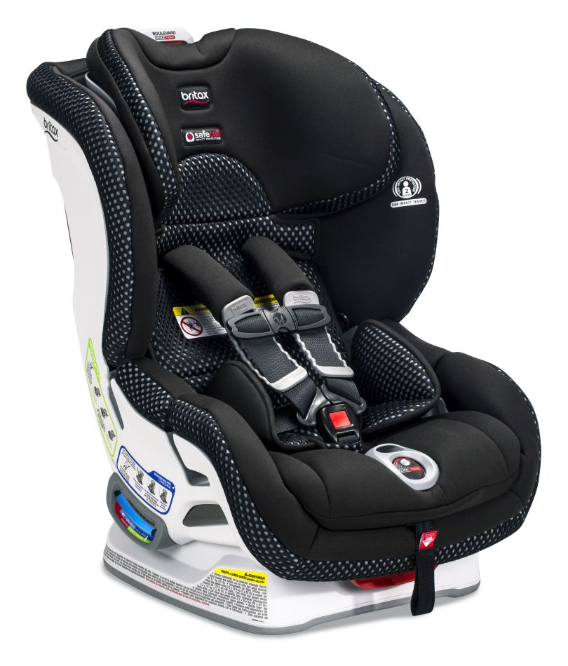 Britax Boulevard ClickTight Car Seat - Cool Flow Grey