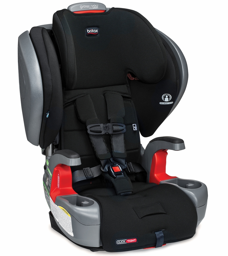 Britax Grow With You ClickTight Plus Booster Seat in Jet