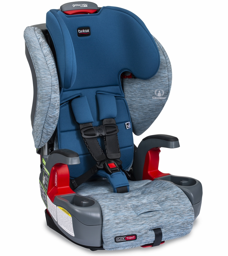 Britax Grow With You ClickTight Booster Seat in Seaglass