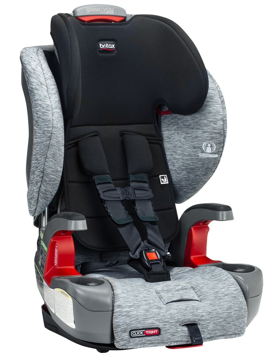 Britax Grow With You ClickTight Booster Seat in Spark