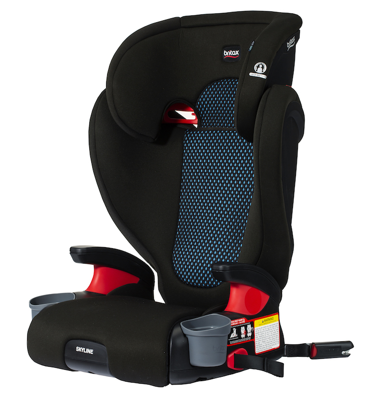 Britax Skyline Belt Positioning Booster Car Seat - Coolflow