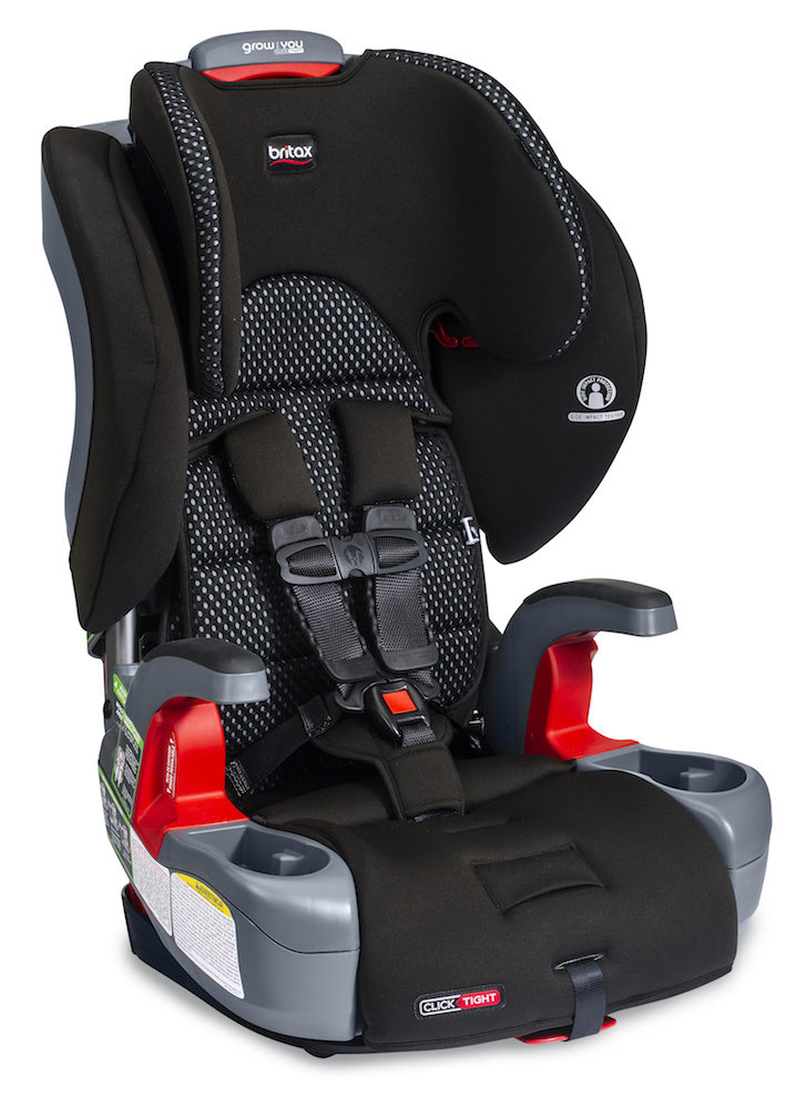 Britax Grow With You ClickTight Booster Seat - Cool Flow Grey