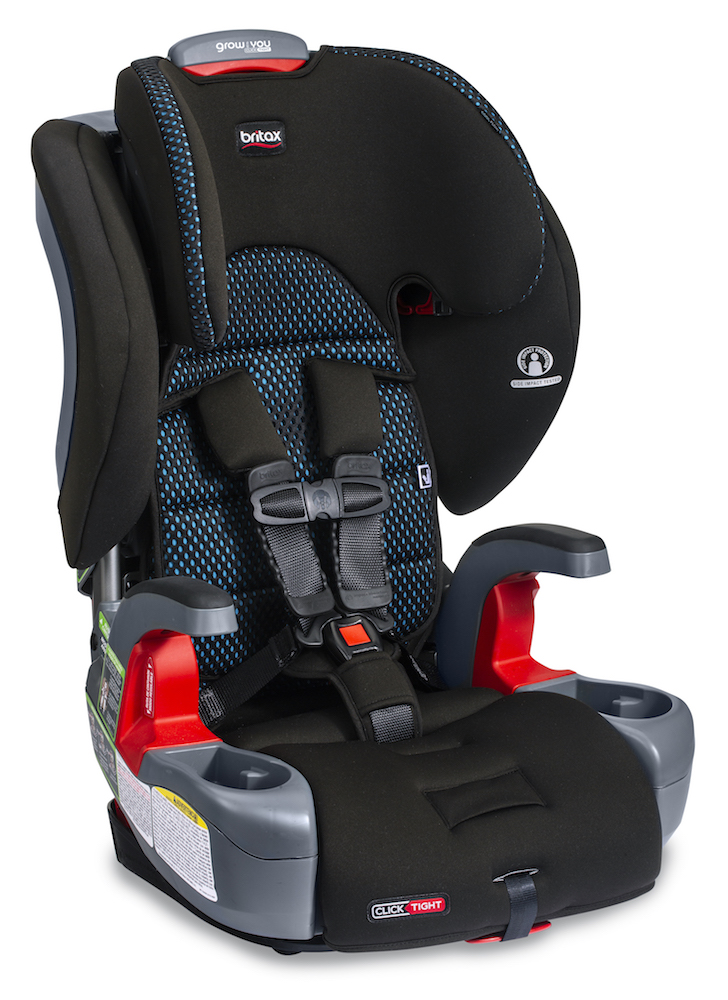 Britax Grow With You ClickTight Booster Seat - Cool Flow Teal