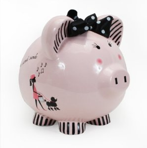Child to Cherish Miss Madeline Piggy Bank