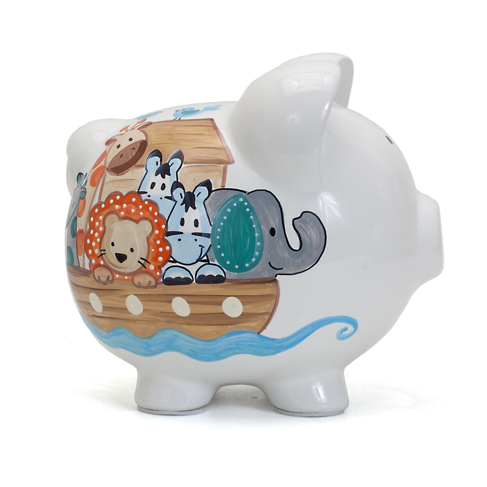 Child to Cherish Noah's Ark Piggy Bank