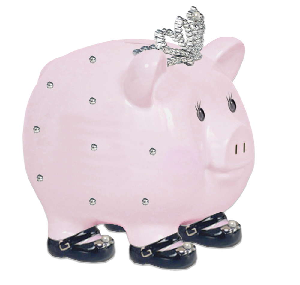 Child to Cherish Princess Piggy Bank