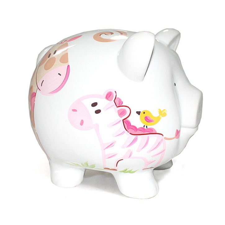 Child to Cherish Jungle Jill Piggy Bank